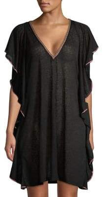 Pitusa Flutter Hem Cover-Up
