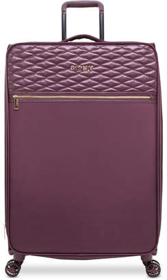 """DKNY Allure 29"""" Quilted Softside Spinner Suitcase"""