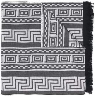 Versace Greca Medusa logo scarf