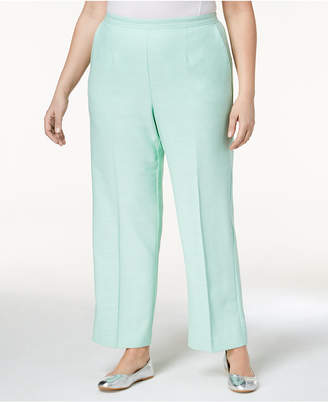Alfred Dunner Plus Size Roman Holiday Pull-On Pants