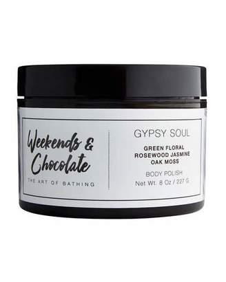 Weekends and Chocolate Body Scrub - Gypsy Soul, 8.0 oz./ 227 mL