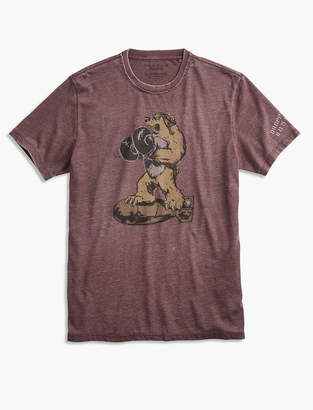 Lucky Brand BOMBER BEAR TEE