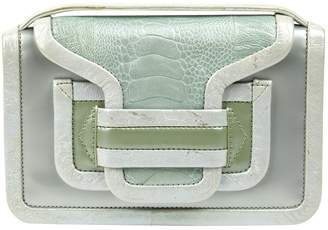 Pierre Hardy Green Crocodile Clutch bags