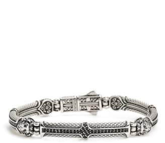 Konstantino 'Aeolus' Lion Head Bracelet