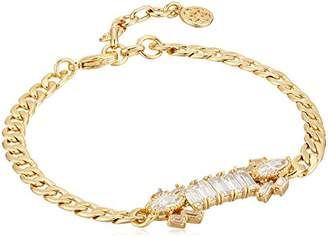 Nicole Miller Nmny Cosmic Stone Id Curb Identification Bracelet