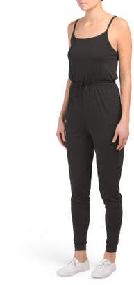 Juniors Hardware Strap Jumpsuit