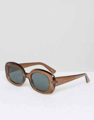 Asos DESIGN square 90s sunglasses