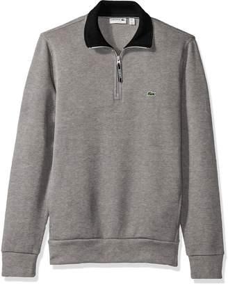 Lacoste Men's Rib Interlock 1/2 Zip Sweatshirt, SH1925-51