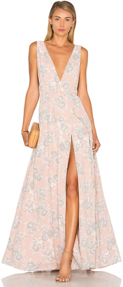 Lovers + Friends x REVOLVE Leah Gown $198 thestylecure.com