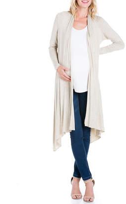 24/7 Comfort Apparel 24/7 Long Sleeve Cardigan - Maternity