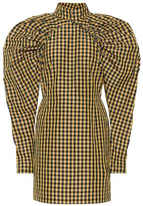 Rotate by Birger Christensen Checked minidress