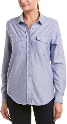 The Kooples Sport Chambray Top