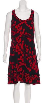 Tory Burch Silk Sleeveless Midi Dress w/ Tags