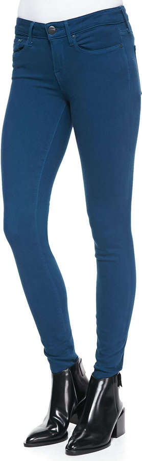Vince Lightweight Denim Stretch Leggings, Petroleum