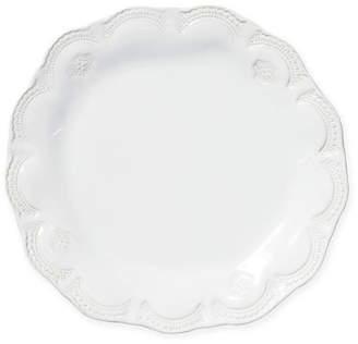 Vietri Incanto Stone Lace Salad Plate - White