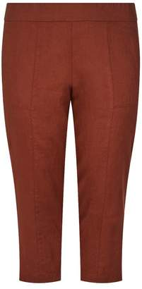 Eileen Fisher Cropped Linen Trousers