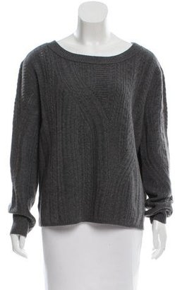 Inhabit Cable Knit Cashmere Sweater w/ Tags $145 thestylecure.com