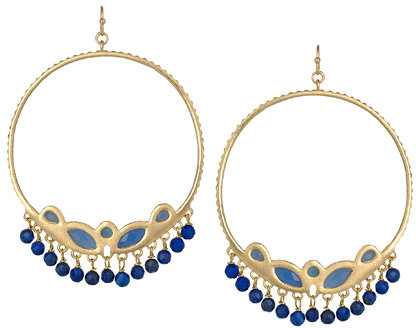 Kendra Scott Fina Divine Hoop Earrings
