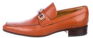 Gucci Leather Dress Loafers