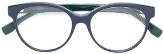 Fendi Eyewear round frame glasses