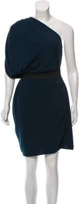 Lanvin Asymmetrical Sleeveless Dress