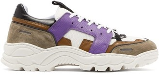Ami Running Lucky 9 Low Top Trainers - Mens - Purple