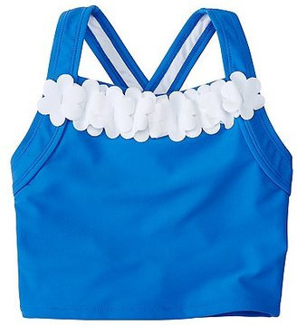 Girls Flutter Tankini Top $24 thestylecure.com