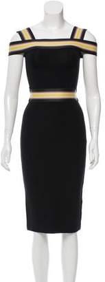 Christopher Kane Bodycon Knee-Length Dress w/ Tags