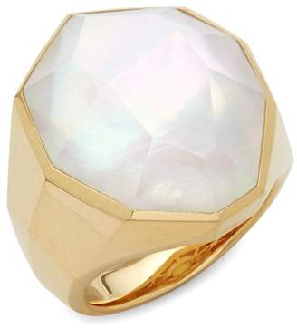 Michael Aram Women's 18K Gold & Mother of Pearl Solitaire Ring