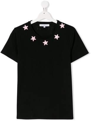 Givenchy Kids TEEN star-appliqué T-shirt