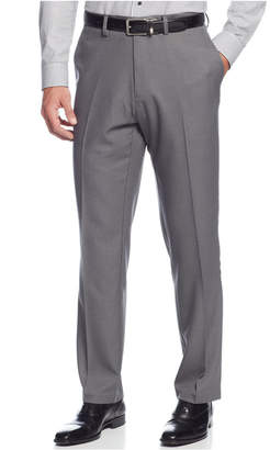 Kenneth Cole Reaction Closeout! Straight-Fit Stretch Gabardine Solid Dress Pants