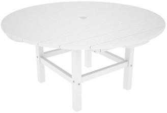 Polywood Round Conversation Table - White