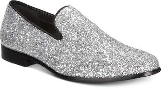 INC International Concepts I.n.c. Men's Triton Glitter Smoking Slippers, Created for Macy's Men's Shoes