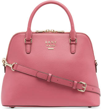 DKNY Whitney Leather Dome Satchel