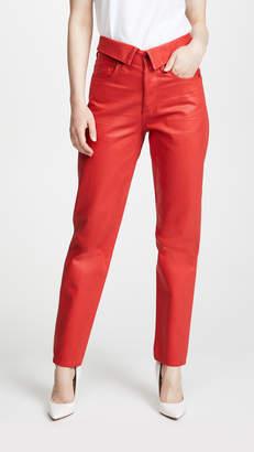 Atelier Jean Coated Flip Pants
