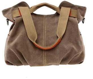Pahajim Women's Casual Vintage Hobo Canvas Purse Top Handle satchel Shoulder Tote Shopper