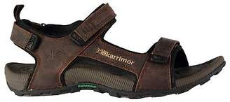 Karrimor Mens Killy Walking Sandals Hook and Loop Leather Upper