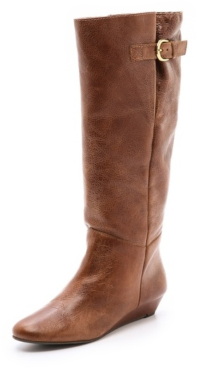 Steven Intyce Wedge Boots