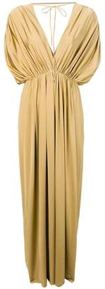 Fisico gathered tied gown