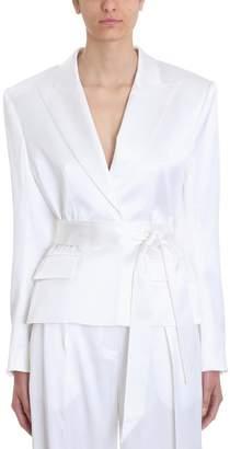 Alexandre Vauthier Self-belted Wrap Blazer