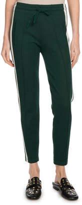 Etoile Isabel Marant Dario Sporty-Knit Drawstring Jogger Pants