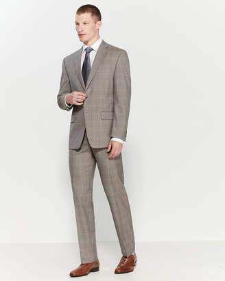 Michael Kors Two-Piece Sharkskin Windowpane Suit