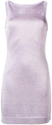 Missoni shimmer knit fitted dress