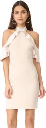 alice + olivia Ebony Cold Shoulder Dress $375 thestylecure.com