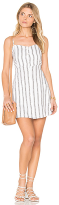 FAITHFULL THE BRAND Beso Dress in Gray $180 thestylecure.com