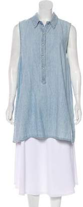 Rag & Bone Denim Sleeveless Tunic