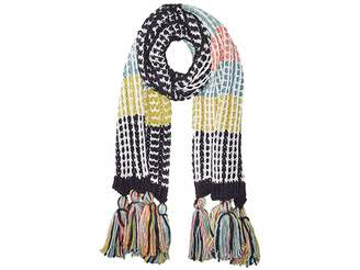 San Diego Hat Company BSS3657 Oversized Knit Scarf with Tassels