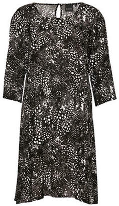 B.young B. YOUNG Hioli Splatter Print Shift Dress