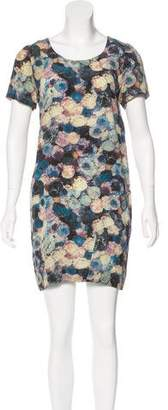 Chris Benz Printed Mini Dress