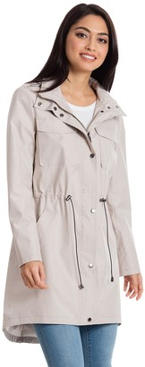 Women's Bagatelle Sport High-Low Anorak Rain Jacket